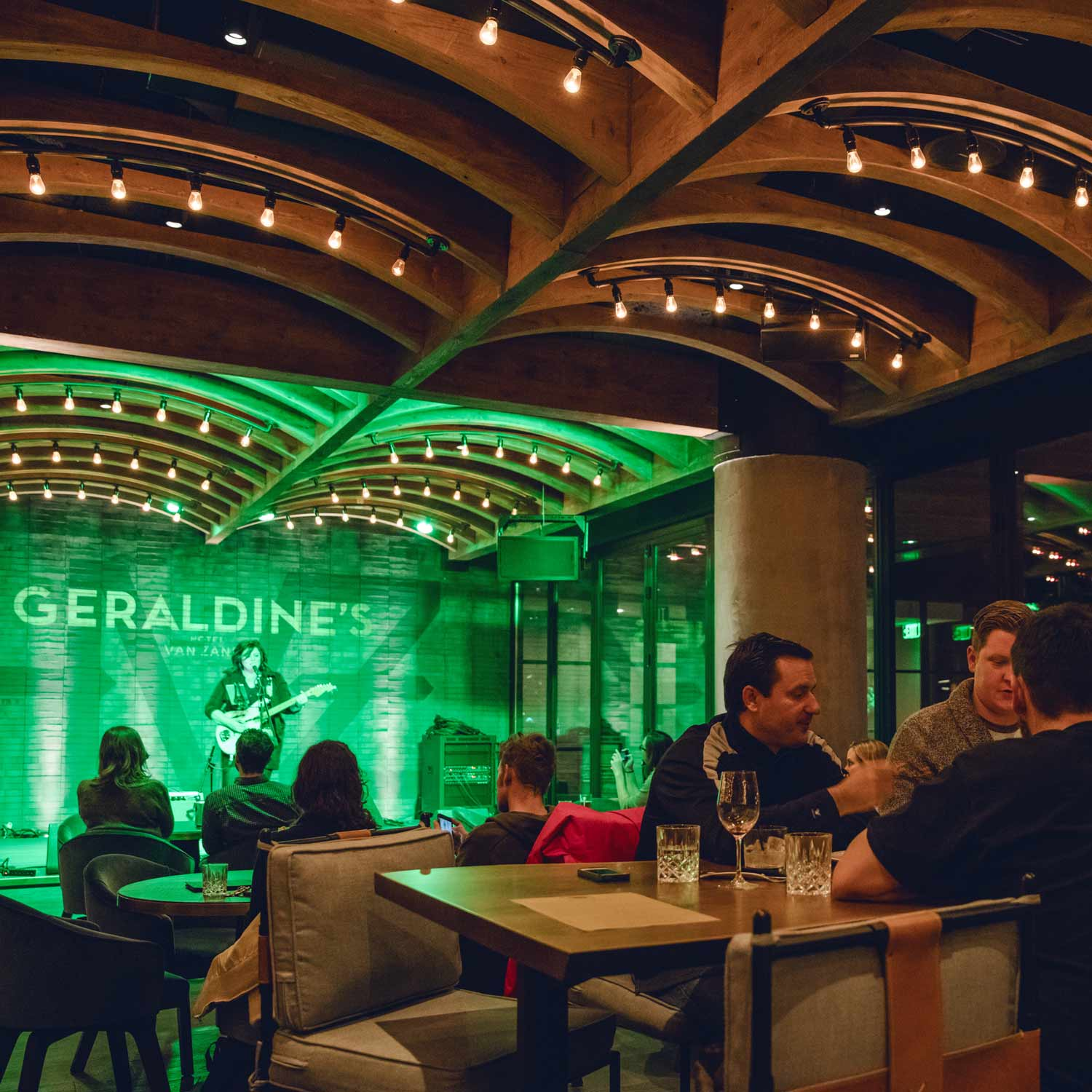Enjoy music nightly at Geraldines