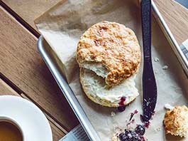 Biscuits and Homemade Jam